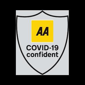 The AA Covid Confident badge