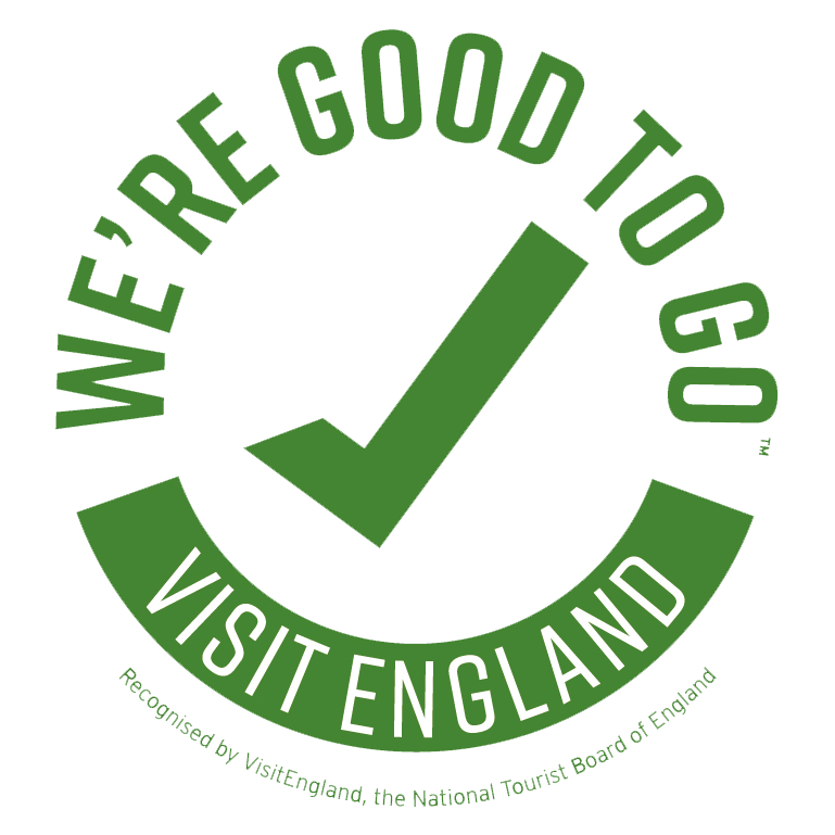 Visit England - We're Good To Go badge