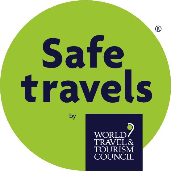 World Travel & Tourism Council 'Safe Travels' badge